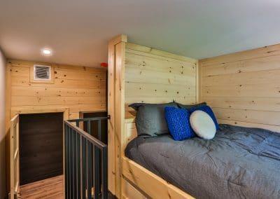 Chambre à deux grands lits