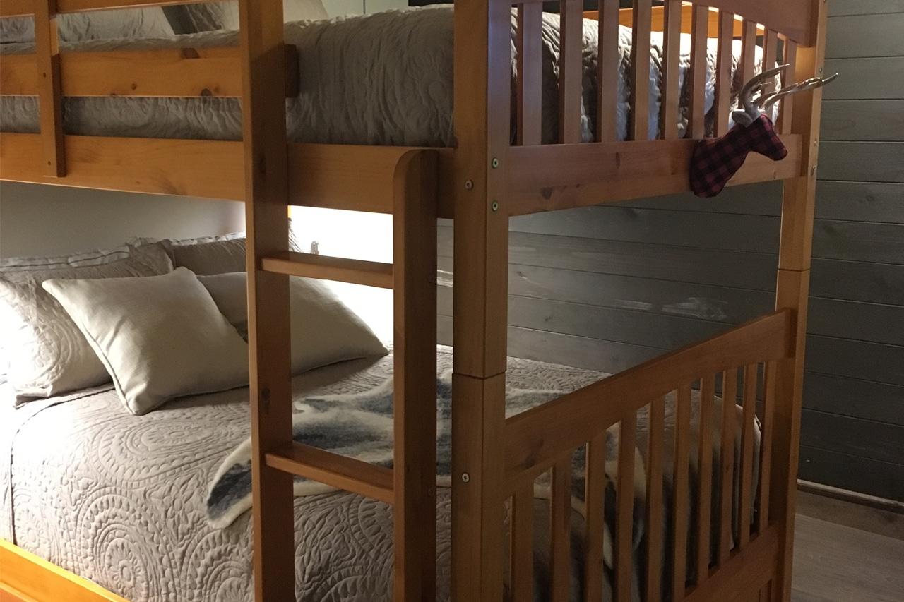 Chambre au sous-sol