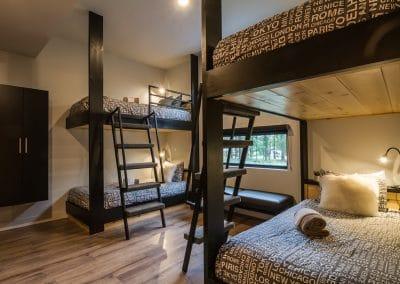 Chambre à lits superposés