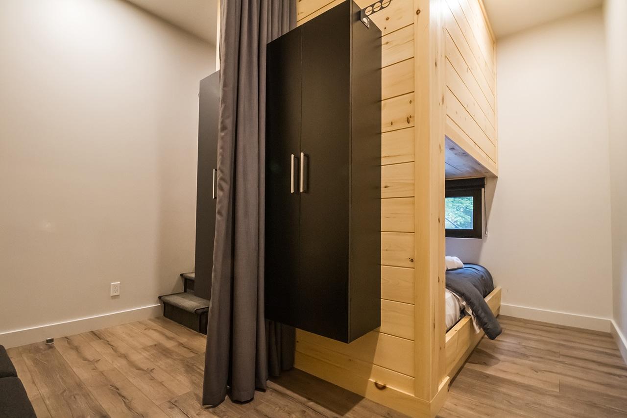 Chambre double lits doubles